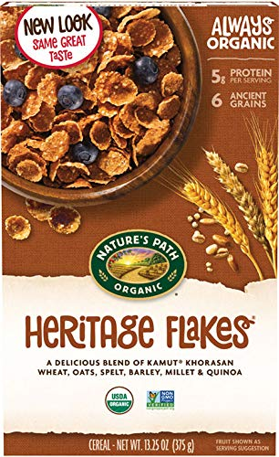 Nature's Path, Cereal Heritage Flakes Organic, 13.25 Ounce