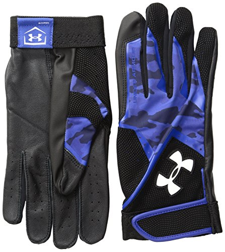 Under Armour Men's Clean Up Graphic Print Baseball Gloves, Royal/White, X-Large