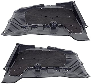 Partomotive For 13-17 Accord, 15-19 TLX Front Engine Splash Shield Cover Left/Right SET PAIR