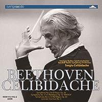 Beethoven: Symphony no. 2,3 & 4 by Celibidache Swedish Radio Symphony Orchestra
