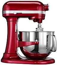 Kitchenaid Professional 600 Stand Mixer 6 quart, Candy Apple (Renewed)