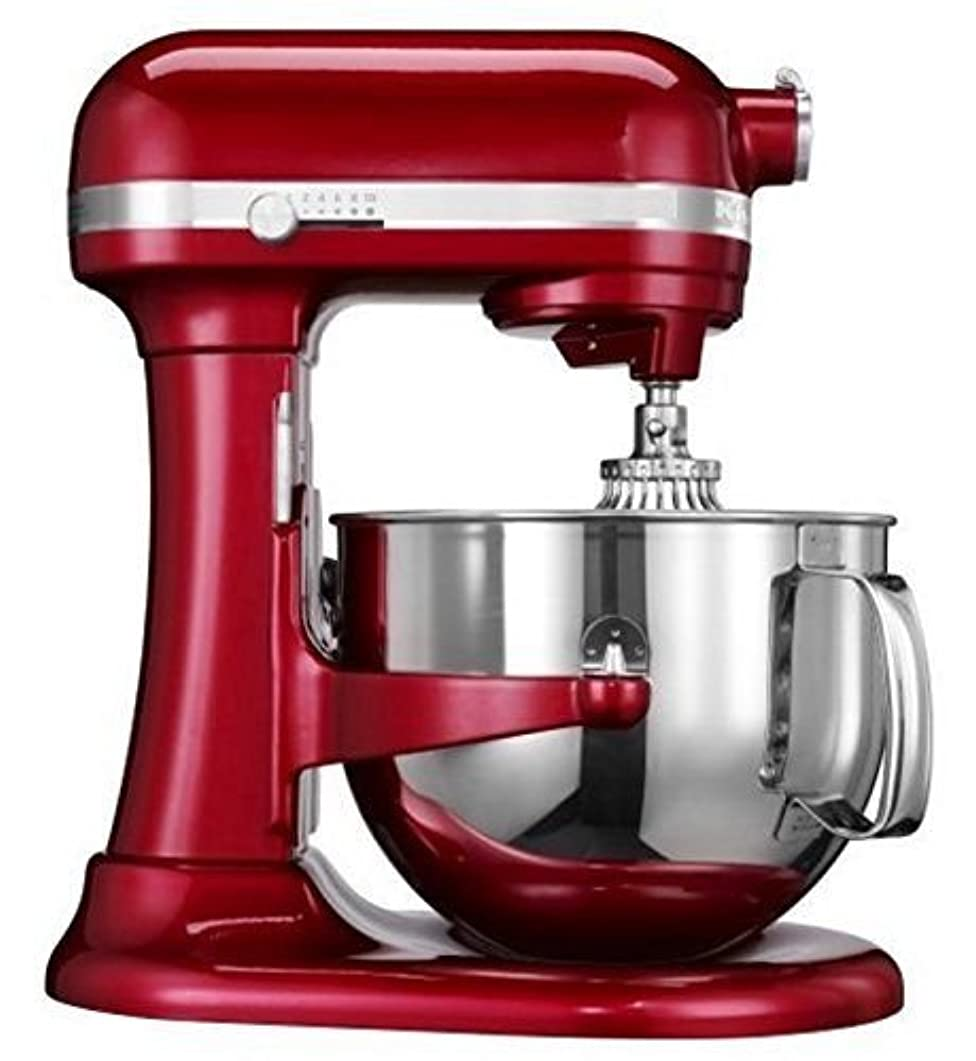 Kitchenaid (CERTIFIED REFURBISHED) Rkp26m1xCA Professional 600 Stand Mixer 6 quart 10-SPD Candy Apple Red by KitchenAid