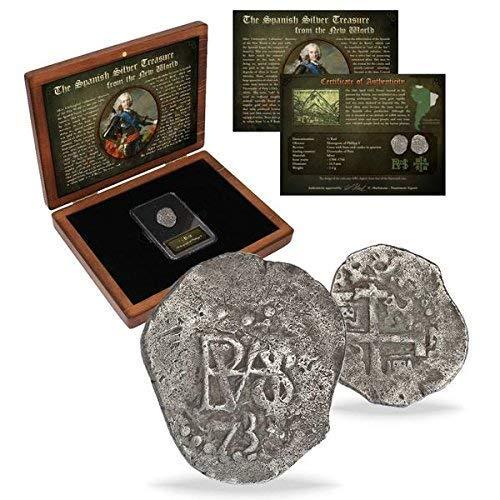 IMPACTO COLECCIONABLES Monedas Antiguas - Las Antiguas Colonias Españolas (acuñada Entre 1.700 y 1746)