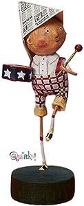 Kinks & Quirks Little Patriotic Boy Lori Mitchell Collectible Figurine