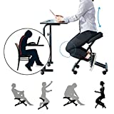 Best Kneeling Chairs - Massage Ergonomic Steel Kneeling Chair Posture Thick Cushion Review