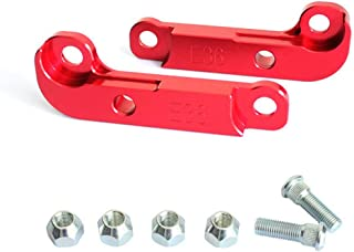 COOLNEIL Car Drift Tuning Parts for BMW E36 M3 Aluminium Adapter Increasing Turn Angles About 25%-30% Tuning Drift Lock Power (Red)