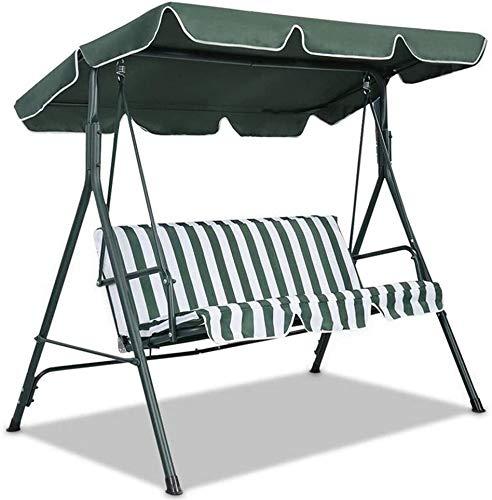 SFGHOUSE - Copertura di ricambio per dondolo da giardino, per esterni, 3 e 2 posti, protezione UV per esterni