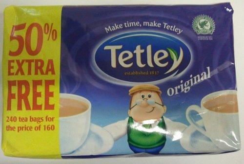 Tetley Original Teabags 160+50% extra free