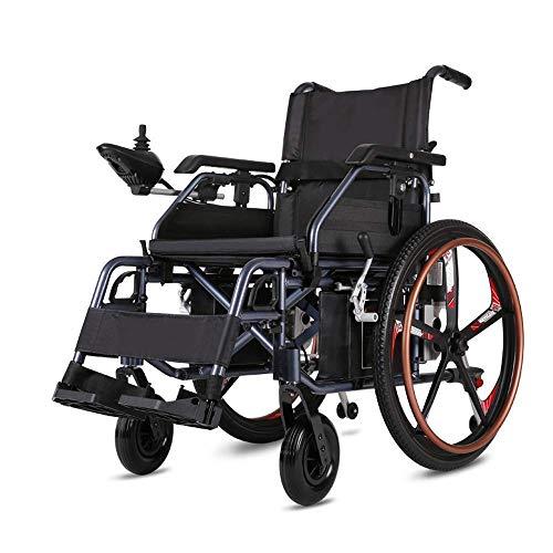 Inicio Accesorios Silla de ruedas eléctrica para personas mayores Discapacitados Scooter para ancianos completamente automático Silla de ruedas portátil plegable de aluminio Batería de litio de 20