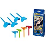 Color Baby - Set 4 Pinchos sujetatoallas para Playa (53386)