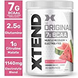XTEND Original BCAA Powder Watermelon Explosion | Sugar Free Post Workout Muscle Recovery Drink with Amino Acids | 7g BCAAs for Men & Women| 30 Servings