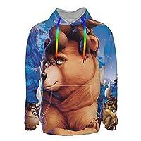 メンズ プルオーバース ブラザーベア (1) パーカー メンズ 長袖 Tシャツ かっこいい プルオーバー秋 冬 春 カジュアル ゆったり おしゃれ トップス アウター