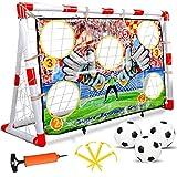 Soccer Goals For Backyard For Kids Set Of 2