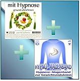 MIT HYPNOSE GESUND ABNEHMEN + HYPNO-MAGENBAND (Hypnose-Audio-CDs) -- ...jetzt noch schneller und...