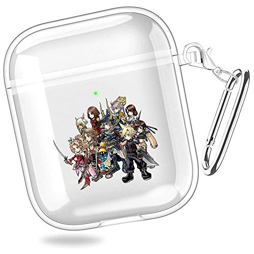 huijiameikeji Dissidia Final Fantasy nt Dissidia Final Fantasy Opera Omnia Android Transparent Shell Case Cover for Coque AirPods 1/2 XTBD-118