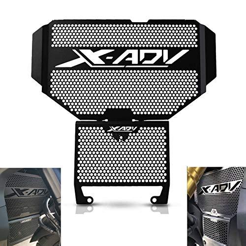 Motorrad Kühlerschutz Grillabdeckung für HONDA X-ADV 750 2017-2019(Schwarz)