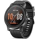 GOKOO Smartwatch Hombres Reloj Inteligente Pulsómetros Monitor de Actividad Recordatorio de Notificación Whatsapp Conexión Bluetooth Podómetro Reloj de Fitness Deportivo Compatible con iOS Android