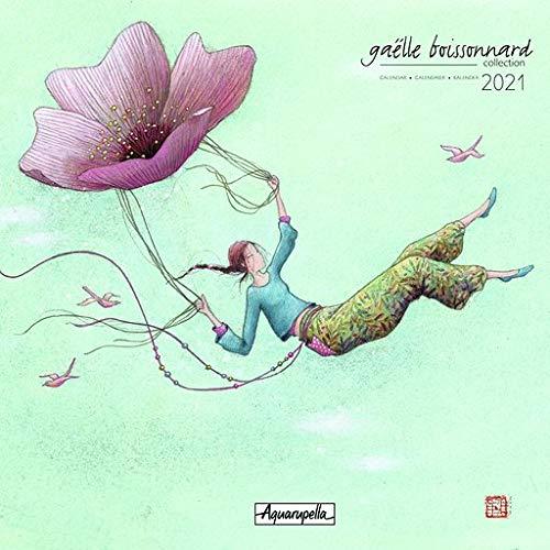Aquarupella Kalender Plus 2021 von Gaëlle Boissonnard 30 x 30 cm