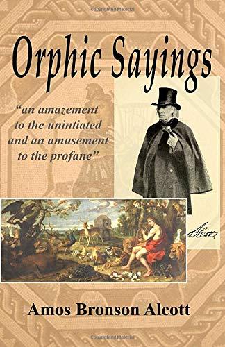 Orphic Sayings