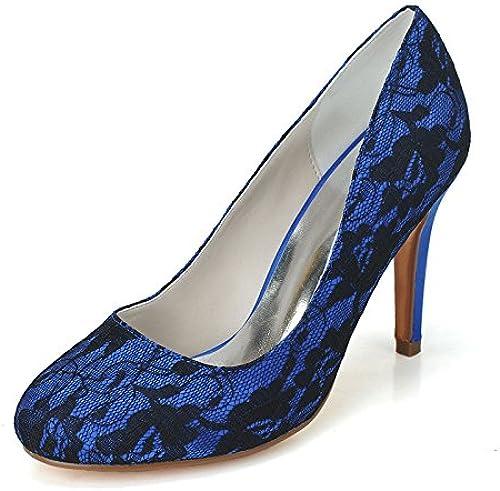 RUGAI-UE RUGAI-UE Chaussures Talon Femme Chaussures Sandale Dentelle Simple  moins cher