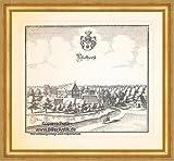 Kunstdruck Dyckhorst Müden-Dieckhorst Topographia