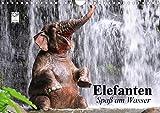 Elefanten. Spaß am Wasser (Wandkalender 2020 DIN A4 quer)