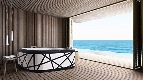 Trade-Line-Partner Premium Whirlpool Outdoor Soho Spa 185x185cm aufblasbar