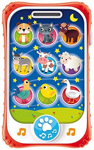 Lisciani Giochi - Carotina Baby Touch Phone Ninna Nanna 2 in 1, 65479.0