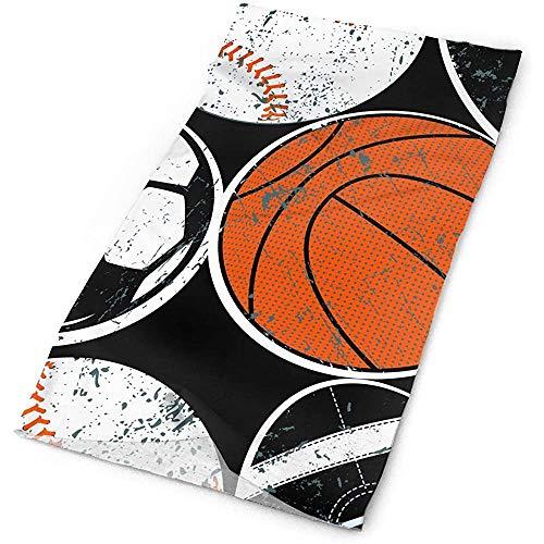 Magic Scarf Headwear Fútbol Baloncesto Balones deportivos Diademas Bandana Cap Bufanda Mascarilla Cuello Polaina Headwrap Pasamontañas Banda para el sudor