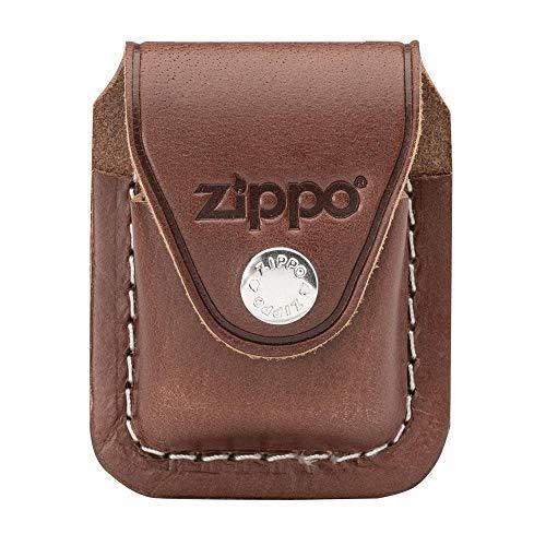Zippo 60001218 Feuerzeug-Tasche Lighter Pouch Brown w/ Clip LPCB