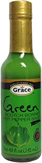 Grace Green Scoth Bonnet - Hot Pepper Sauce 4.8 fl oz Product of Jamaica