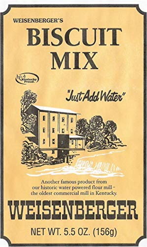 Weisenberger Biscuit Mix - Southern Style Buttermilk Biscuit Mix - Made From Non GMO Soft Red Wheat - Traditional Old Fashioned Breakfast Biscuits - Quick Breakfast Biscuit Mix - 5.5 Oz - 3 Pack