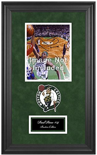 Boston Celtics NBA 8x10 Photograph Team Logo and Basketball