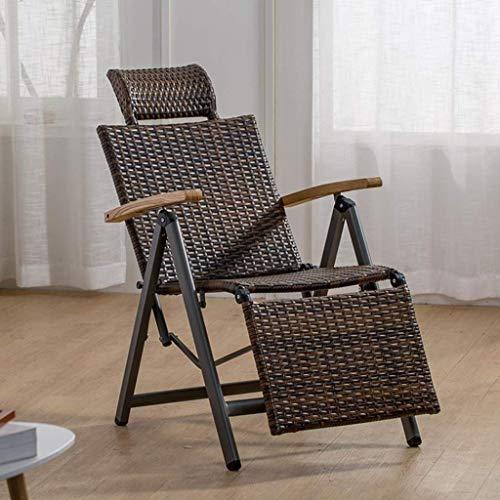 NBVCX Furniture Decoration Garden Lounger Reclining Garden Chair Recliner Sun Loungers Zero Gravity Chairs Adjustable Sunbed Folding Deck Chair