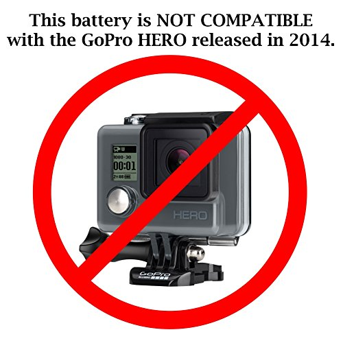 Wasabi Power Battery (2-Pack) and Charger for GoPro HD HERO2, GoPro Original HD HERO (2010 model) and GoPro AHDBT-001, AHDBT-002