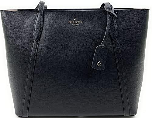Kate Spade New York Cara Large Tote Shoulder Bag (Black)