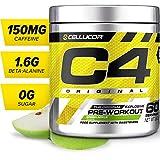 Cellucor - Poudre pré-entraînement C4 Original Explosive - pomme verte - 60 portions
