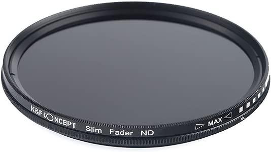 K F Concept Ultra Slim 52mm Variable Fader Adjustable Filter Neutral D...
