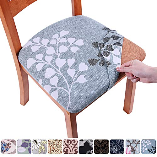 (50% OFF Coupon) Dining Chair Seat Covers Set of 6 $14.00