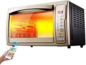PLEASUR Horno eléctrico Inteligente con Control Remoto de 30L 220V Horno doméstico Pollo asado Huevo Tarta máquina para Hornear Pizza