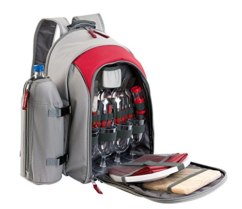 Be Nomad picknick-rugzak, koeltas, isotherm one size Rot/Grau