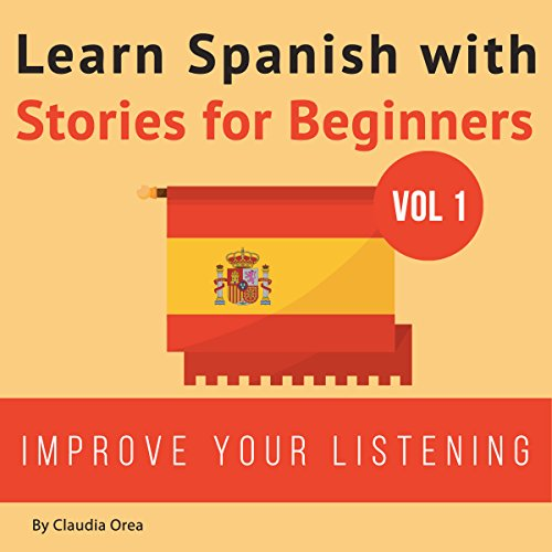 Learn Spanish with Stories for Beginners cover art