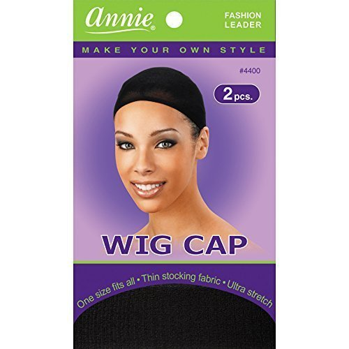 Wig Cap 6 Free shipping anywhere in the nation pack - fishnet stretchable Weaving Under blast sales Black snood