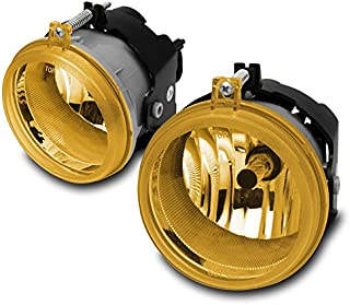 ZMAUTOPARTS For Town Country Pacifica Caravan Charger Caliber Nitro Patriot Yellow Fog Light Set