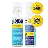 XBEE® All in One Additiv – voll org. Diesel Additiv & Benzin Additiv für 20 Tankfüllungen (1,60€ pro 50l Tankfüllung)/mehr Reichweite & Kostenersparnis/Motorreiniger & Schutz vor Dieselpest (250 ml)