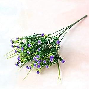 Artificial and Dried Flower 34CM Artificial Gypsophila Silk Flower Home Balcony Office Desktop Garden Decoration Wedding Scene Layout Photography Props