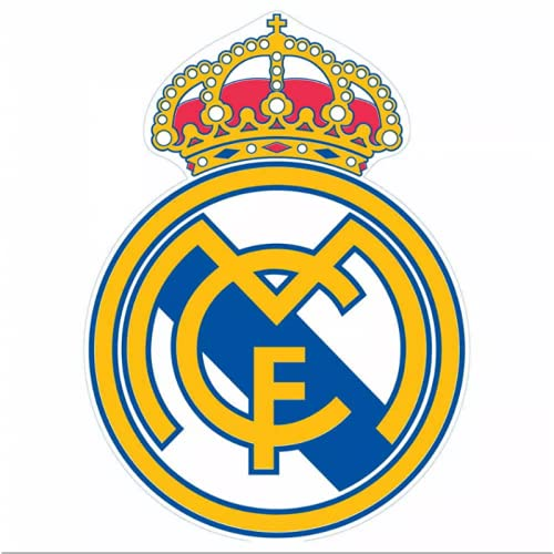 EL MUNDO Toalla DE Playa Forma Escudo Real Madrid