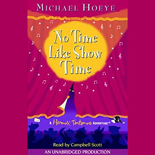 No Time Like Show Time audiobook cover art