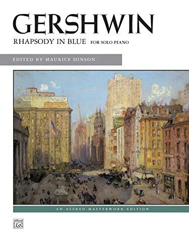 Price comparison product image Rhapsody in Blue: Solo Piano Version (Alfred Masterwork Edition)