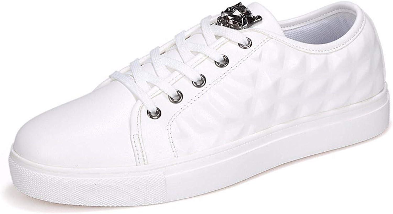KMJBS-Men Board shoes Autumn Leisure Convex Trend Big Code.White Thirty-Nine